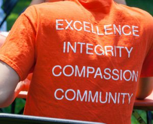 About Us menu
