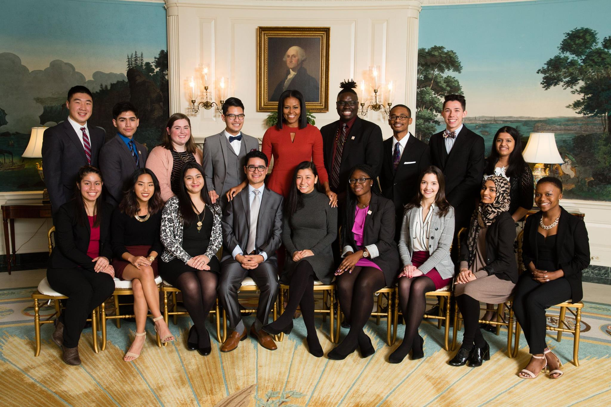 Better Make Room Student Advisory Board with Michelle Obama