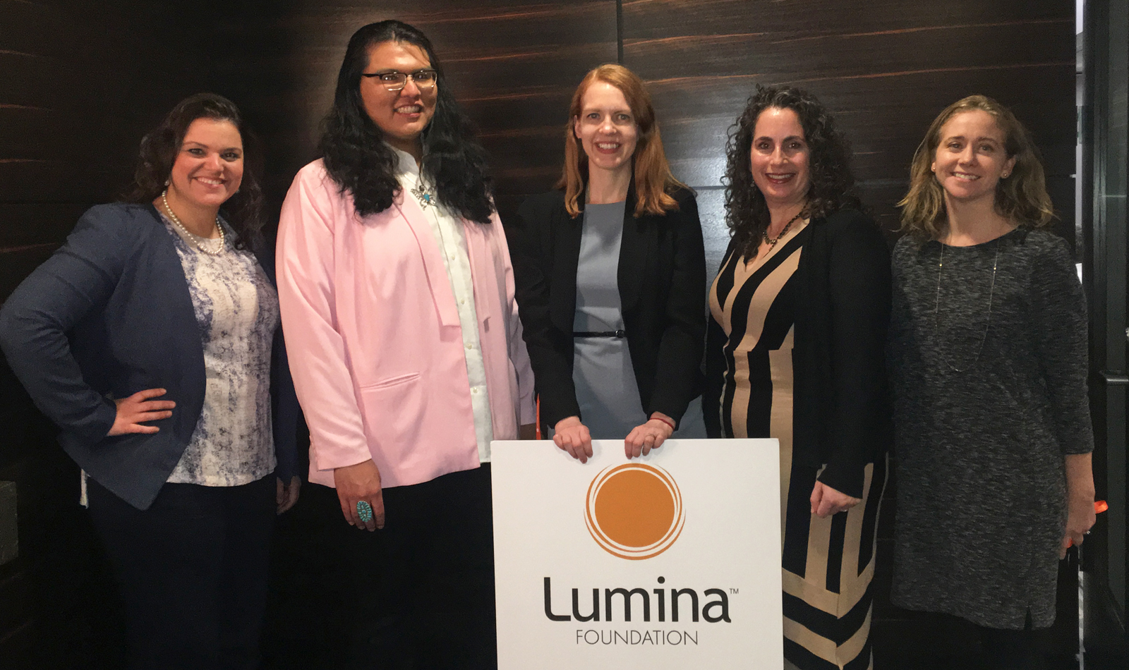 LEDA at Lumina Foundation's Embracing Constituent Voices Convening