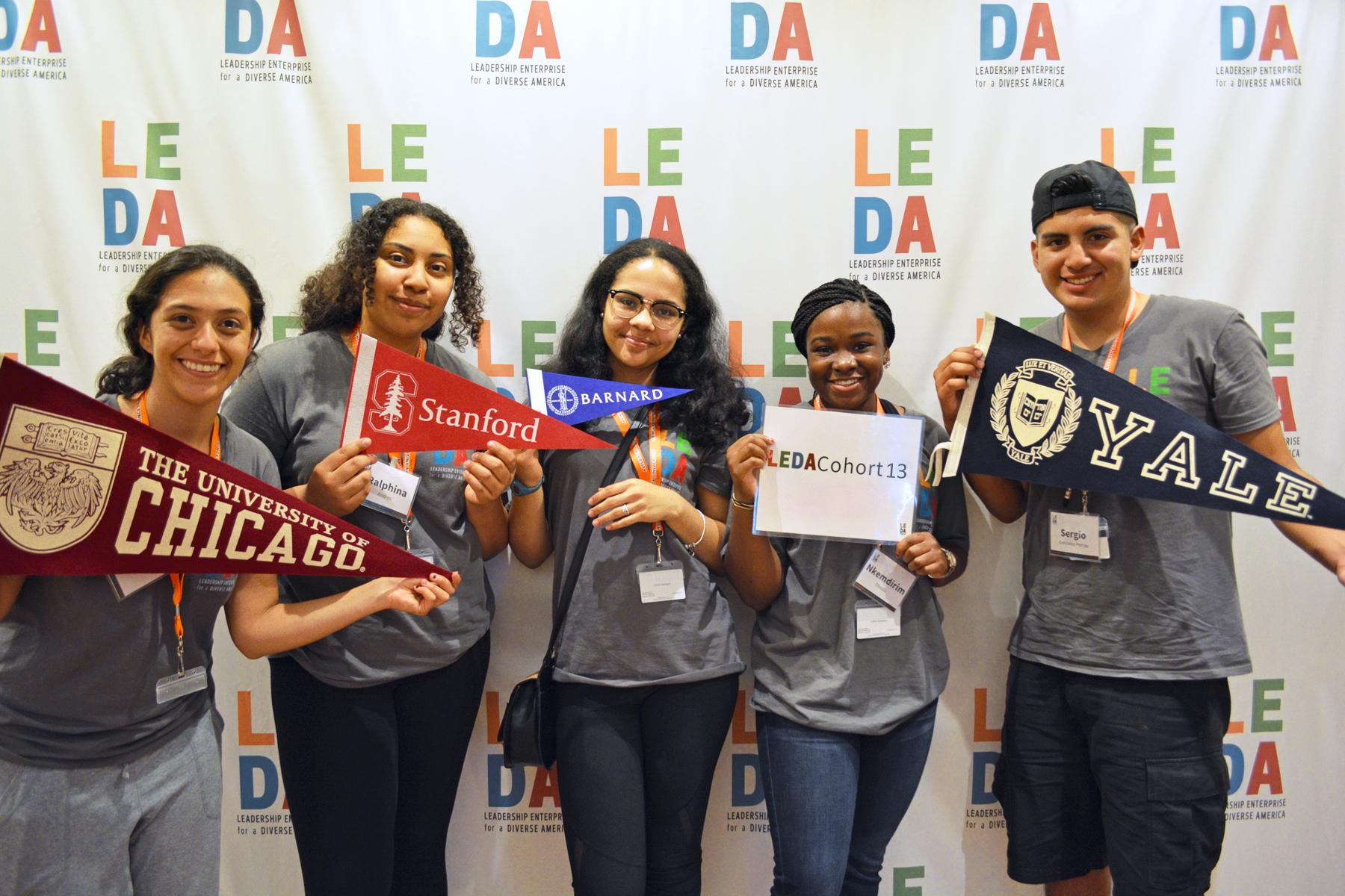 JLEDA Scholars aim high